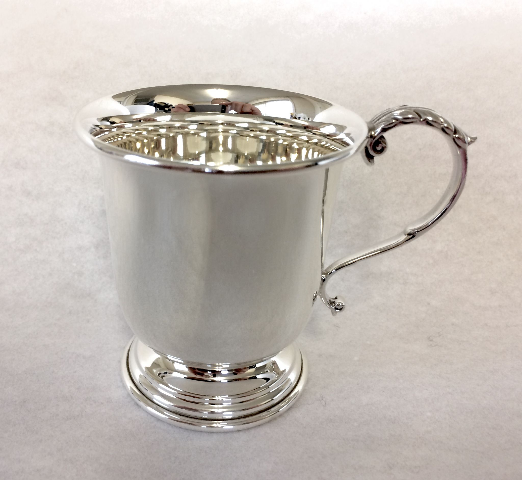 Sterling Silver Christening Cup Large